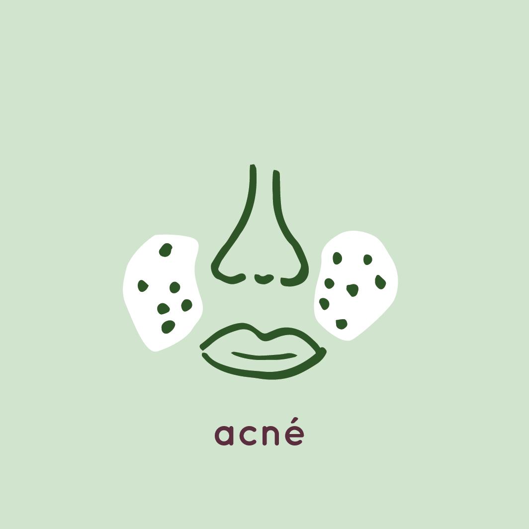 Acné Icoon