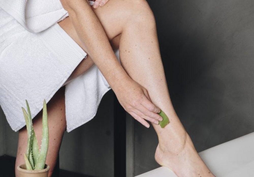 Aloë vera gebruiken bij een droge huid - Dr. Green
