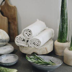 salon handdoekjes sfeer