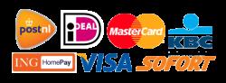logo's betalen met