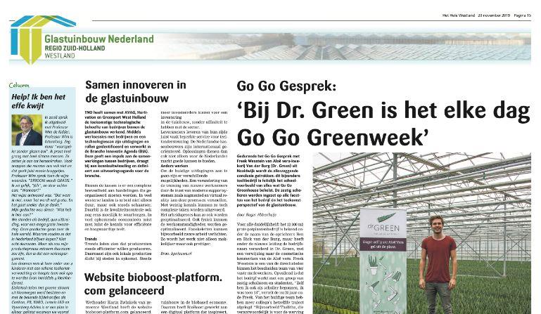 Dr. Green in Het Hele Westland - Aloë vera kwekerij