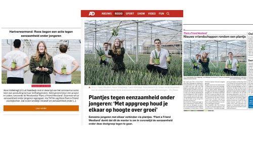 Screenshots plant a friend media Dr. Green Aloë vera kwekerij