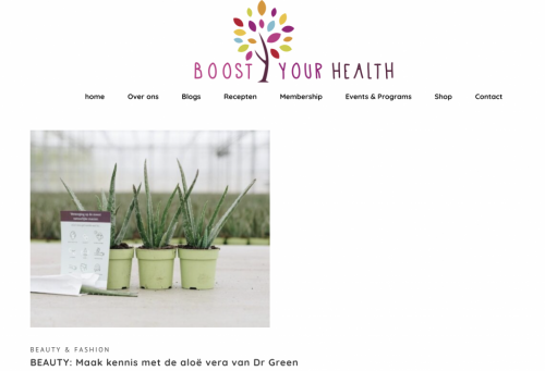 Boost Your health Dr Green